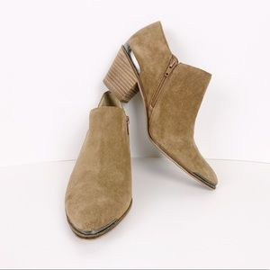 Lucky Brand Size 8 Point Landrue Ankle Booties